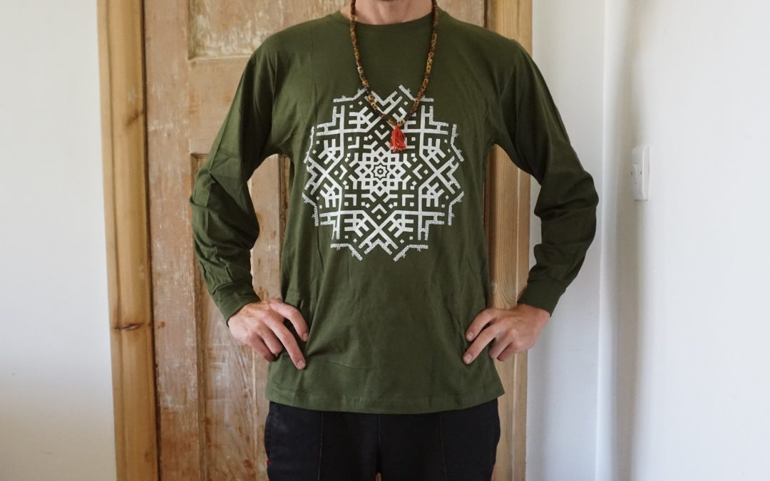 Another print run of the EQ369 Mandala & Sacred Swasti T-shirts